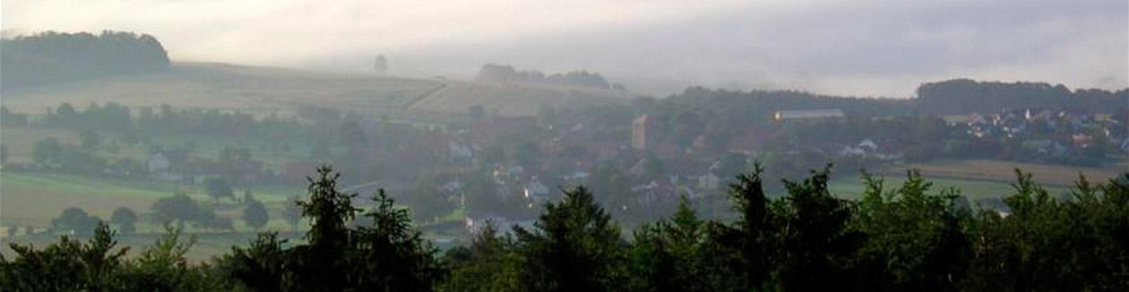 Morgennebel über Holzheim